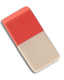Multicolored eraser Stock Image