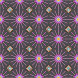 Multicolored Ethnic geometric patterns colorful design for background or wallpaper. Abstract print. 10 eps stock illustration