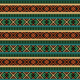 Multicolored ethnic seamless background Royalty Free Stock Images