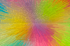 Multicolored extrude abstract background Royalty Free Stock Photo