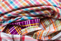 Multicolored fabric Royalty Free Stock Image