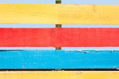 Multicolored fence Royalty Free Stock Image