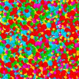 Multicolored festive paper confetti background. Vector illustration for decoration of holidays, postcards, posters, websites, carn. Ivals, birthday parties Stock Photography