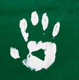 Multicolored fingerprints Royalty Free Stock Image