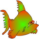 Multicolored fish Royalty Free Stock Photo