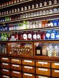 Multicolored flessen Royalty-vrije Stock Afbeeldingen