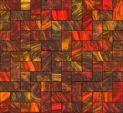 Multicolored floor tiles Royalty Free Stock Photography