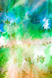 Multicolored floral abstract background Stock Photos