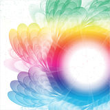 Multicolored flower. Eps10. Royalty Free Stock Photography