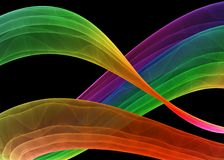 Multicolored formation stock images