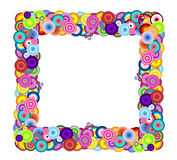 Multicolored Frame Stock Image