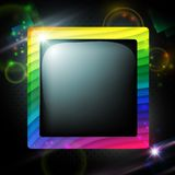 Multicolored frame Royalty Free Stock Photos