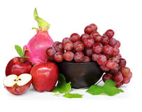 Multicolored fruit Stock Afbeelding