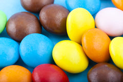 Multicolored Fruit Flavored Candies Royalty Free Stock Image