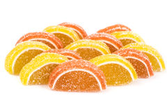 Multicolored fruit jelly Royalty Free Stock Photo