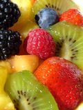 Multicolored fruits Royalty Free Stock Images
