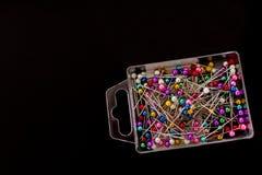 Multicolored geïsoleerde spelden Stock Afbeelding