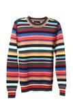 Multicolored gebreid sweather voor mensen Royalty-vrije Stock Foto