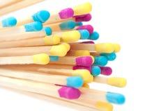 Multicolored Gelijken Stock Afbeeldingen