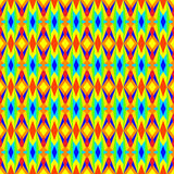 Multicolored Geometric Pattern Royalty Free Stock Photos