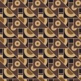 Multicolored geometric seamless pattern Stock Photo