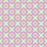Multicolored geometric seamless pattern. Multicolored geometric traditional seamless pattern Stock Photography