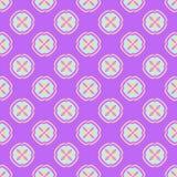 Multicolored geometric seamless pattern. Multicolored geometric traditional seamless pattern Royalty Free Stock Photos