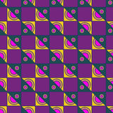 Multicolored geometric seamless pattern. Multicolored geometric traditional seamless pattern Royalty Free Stock Images
