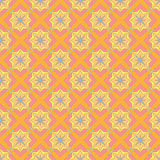 Multicolored geometric seamless pattern. Multicolored geometric traditional seamless pattern Royalty Free Stock Image
