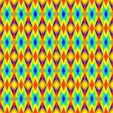 Multicolored Geometrisch Patroon Royalty-vrije Stock Foto's