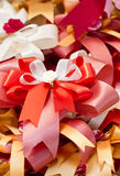 Multicolored Gift Ribbons. Royalty Free Stock Photos