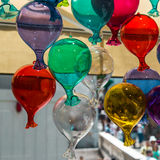 Multicolored Glass Balloons Stock Images