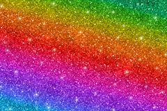 Multicolored glitter background. Horizontal multicolored glitter texture, abstract background. Vector Royalty Free Stock Image