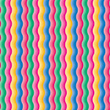 Multicolored Gradient Waves Background. Repeating pattern of colorful waves Stock Photos