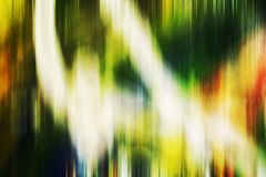 Multicolored green blurred shades, shapes, geometries, abstract creative background. Multicolored vivid green rainbow colors, blurred geometries on colorful Royalty Free Stock Photo