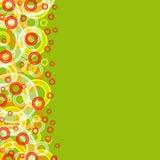 Multicolored grote cirkels royalty-vrije illustratie