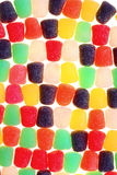 Multicolored gumdrop pattern Royalty Free Stock Images