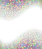 Multicolored halftone achtergrond Royalty-vrije Stock Afbeeldingen