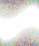 Multicolored halftone background Royalty Free Stock Images