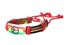 Multicolored handmade bracelet Stock Image