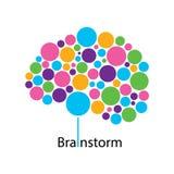 Multicolored Hersenen Royalty-vrije Stock Fotografie