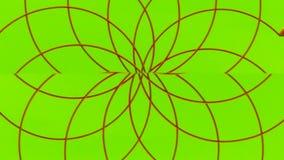 Multicolored het spinnen abstractie 002 royalty-vrije illustratie