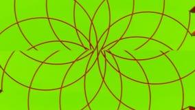 Multicolored het spinnen abstractie 001 royalty-vrije illustratie