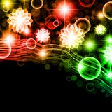 Multicolored holiday background Royalty Free Stock Photography