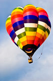 Multicolored Hot Air Balloon Royalty Free Stock Photos