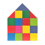 Multicolored house Royalty Free Stock Photos