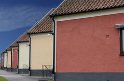 Multicolored houses Royalty Free Stock Photo