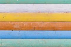 Multicolored houten textuur als achtergrond Sluit omhoog van kleurrijk moeras royalty-vrije stock foto
