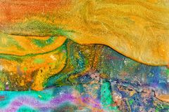 Multicolored background illustration Royalty Free Stock Photography