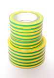 Multicolored insulating tapes on white background Royalty Free Stock Images